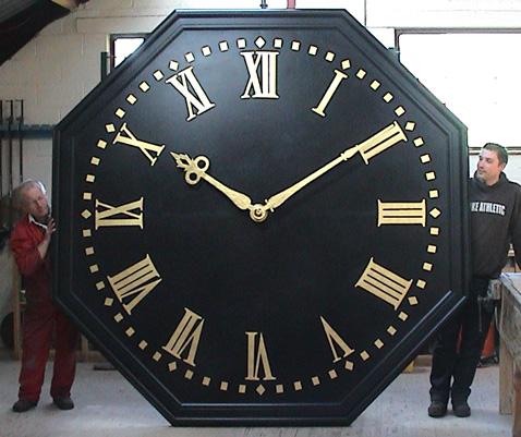 Wingham clock dial.